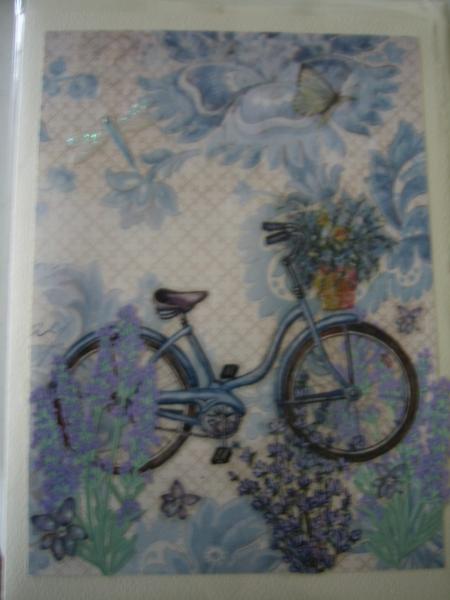 bike & lavendar market