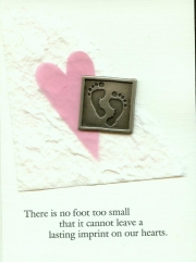 """There is no footprint toos small with plaque"