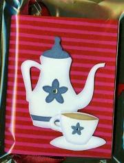 red_teapot_striped_handmade_paper_book_001