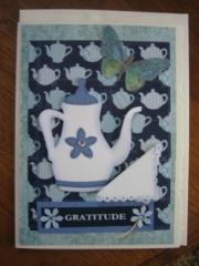 blue teapot, Gratitude