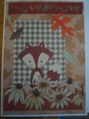 Fox in flowers