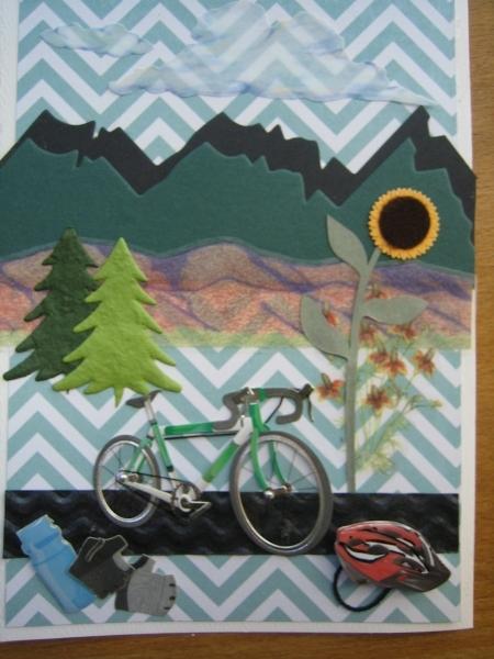 bike along the foothills