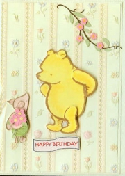 Pooh and piglet birthday