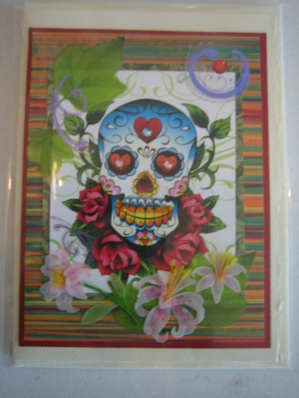 Day of the Dead with roses