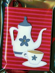 red_teapot_striped_handmade_paper_book_001