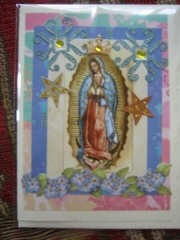 Blue Our Lady of Guadalupe
