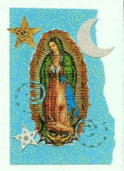 Turquoise swirl Our Lady