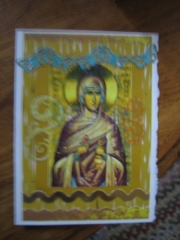 Mary Magdalene card at Sagrada
