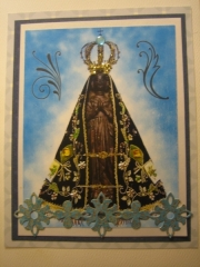 Black Madonna card at Sagrada Sacred Art
